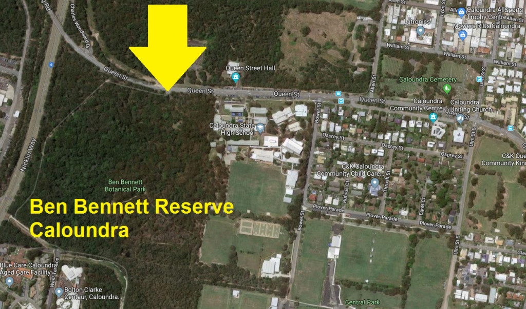 Ben Bennett Reserve Meeting Place