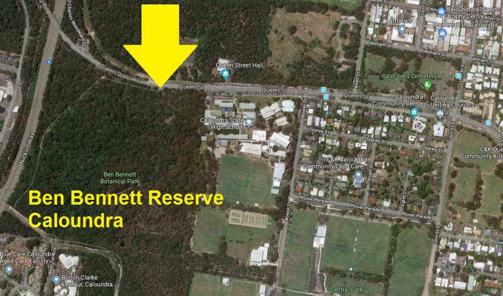 Ben Bennett Reserve Meeting Place